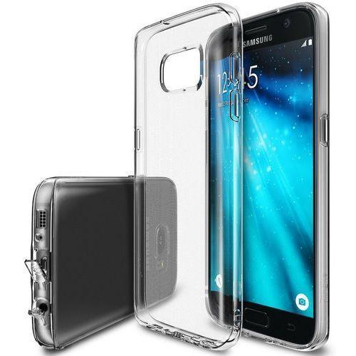Obudowa Rearth | Etui Ringke Fusion Case + Folia ochronna | Samsung Galaxy S7 Edge | kolor Crystal View - Crystal View