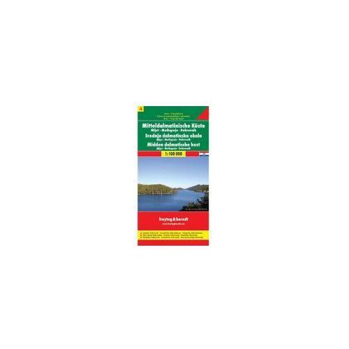 AK 0706 Střední Dalmácie Mljet Dubrovník 1:100 T