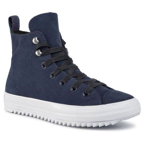 Converse Sneakersy - ctas hiker hi 565237c obsidian/white/black