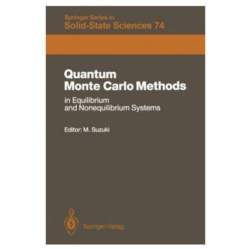 Quantum Monte Carlo Methods in Equilibrium and Nonequilibrium Systems