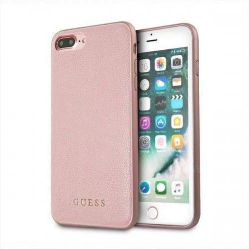Guess Iridescent - Etui iPhone 8 Plus / 7 Plus (różowe złoto), 10_11511