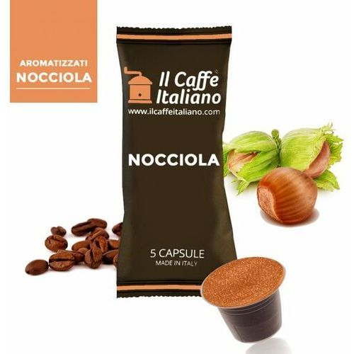 Nocciola (kawa aromatyzowana orzechowa) kapsułki do nespresso – 50 kapsułek marki Nespresso kapsułki