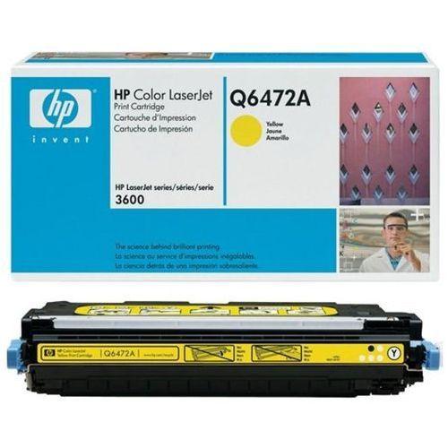 Wyprzedaż Oryginał Toner HP 502A do Color LaserJet 3600 | 4 000 str. | yellow