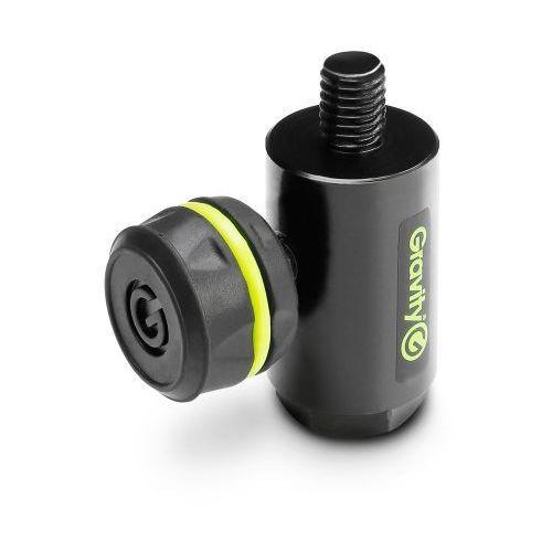 Gravity ms qs 1 b adapter do połączenia obrotowego wysięgnika mikrofonowego