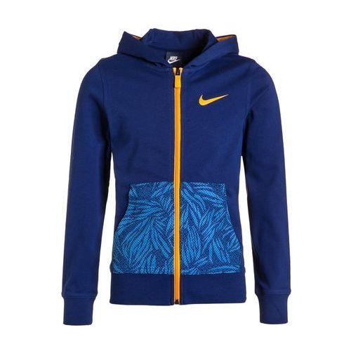 Nike Performance YA76 Kurtka sportowa deep royal blue/vivid orange z kategorii kurtki dla dzieci