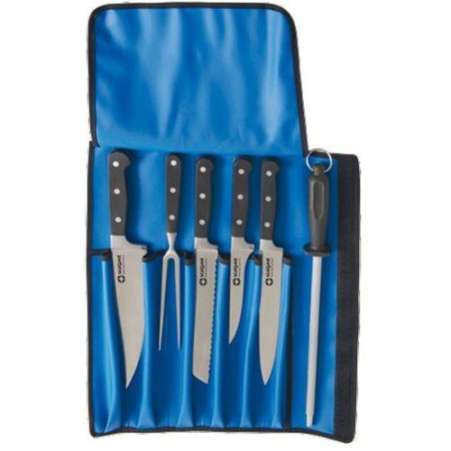 Zestaw noży kutych z pokrowcem | , 200009 marki Stalgast