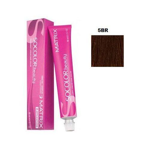Matrix Socolor Beauty pielęgnująca farba do włosów odcień 5BR (Light Brown Brown Red) 90 ml, kolor Matrix