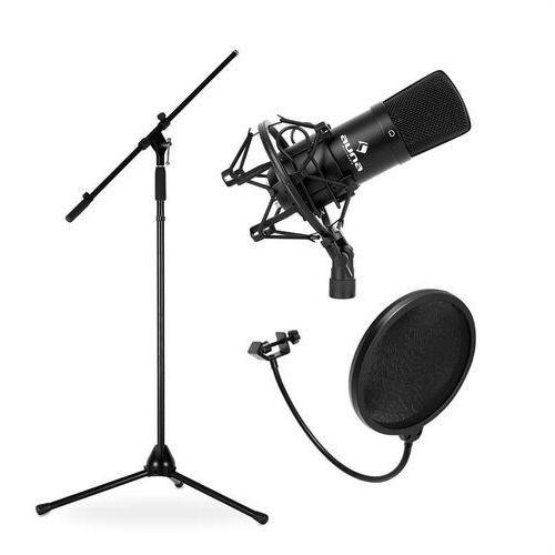 Electronic-Star Estradowy-&zestaw mikrofonowy CM001B z mikrofonem, statywem i stojakiem