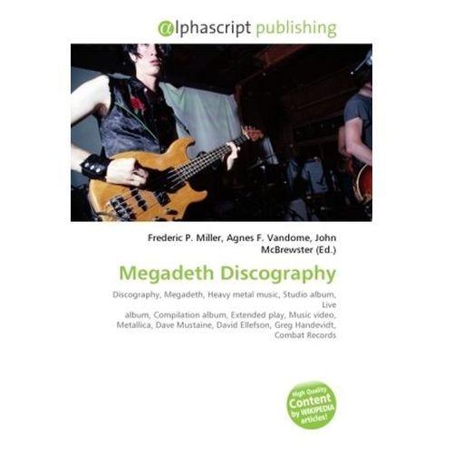 Megadeth Discography (9786130702144)