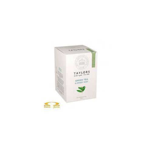 Taylors of harrogate Herbata zielona ze słodką miętą 20 saszetek