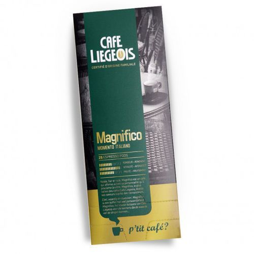 "Kawa w tabletkach ""magnifico"", 25 szt. marki Café liégeois"
