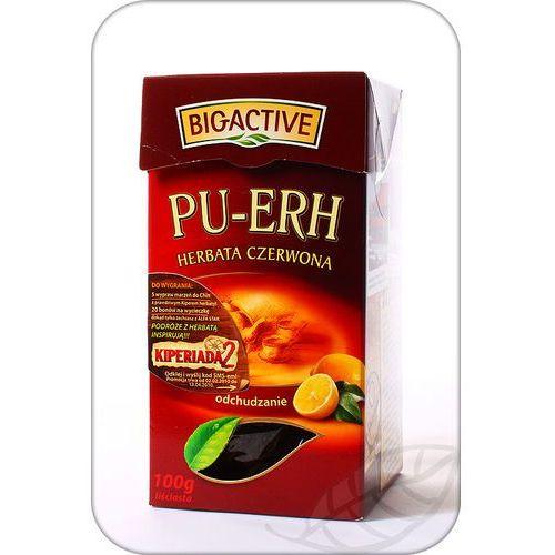 Bio-active Pu erh herbata czerwona z sokiem cytrynowym 100g (5905548350028)