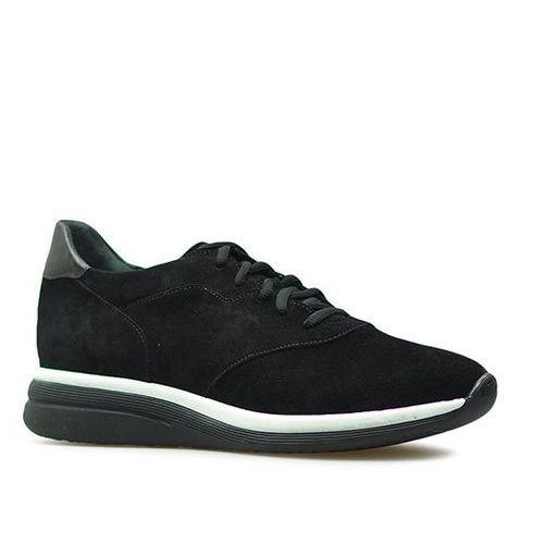 Sneakersy 1lre8_z_yz1 czarne zamsz marki Ryłko