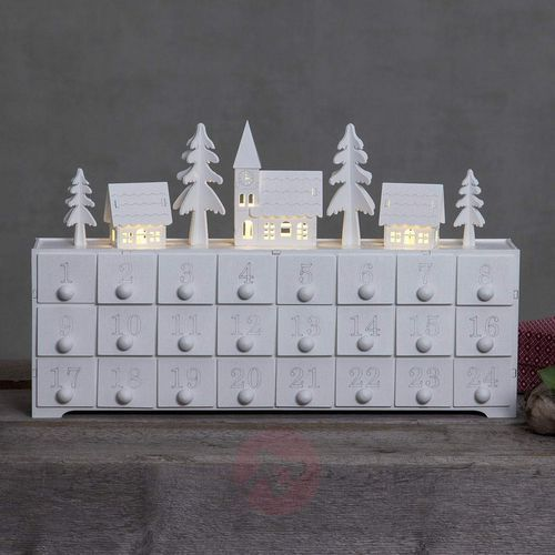 Best season Kalendarz adwentowy-lampa dekoracyjna yuletide,led (7391482030764)