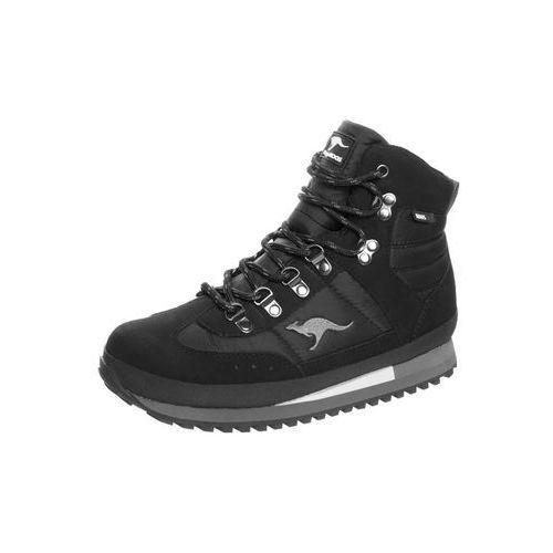 KangaROOS TRAMPDIC Śniegowce black/dark grey, 3321A