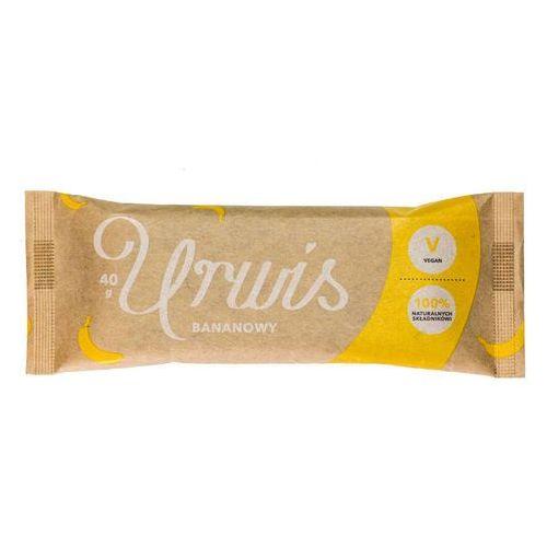 Urwis bananowy baton 100% naturalnych składników 40g marki Zmiany zmiany