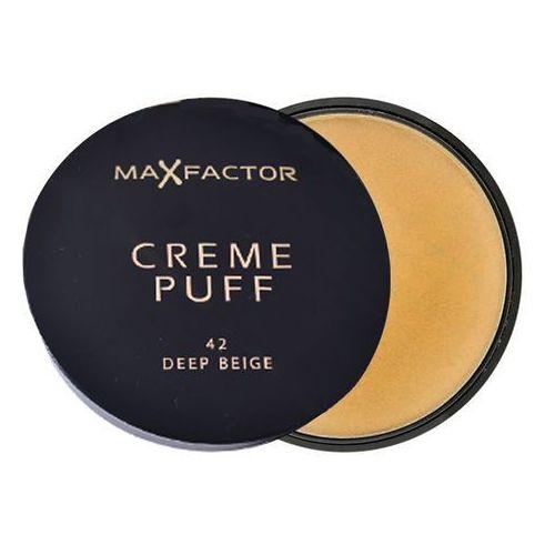 puder creme puff 42 deep beige marki Max factor