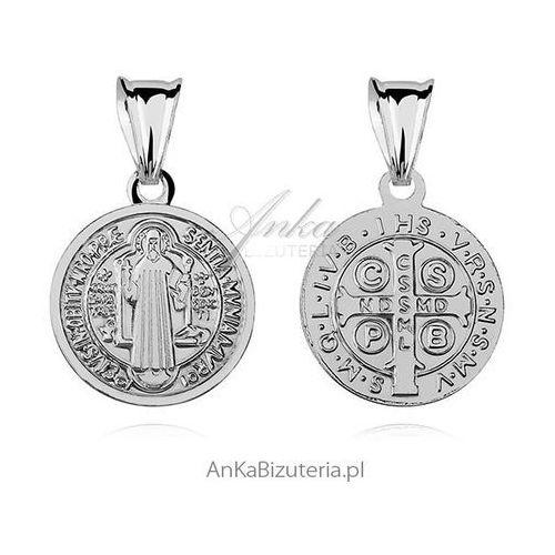 Anka biżuteria Medalik św. benedykta