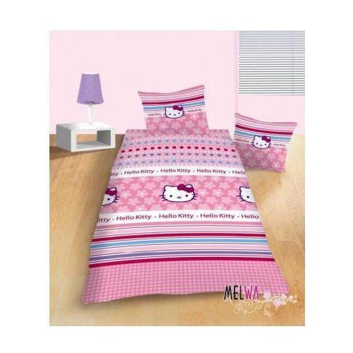 Komplet pościel licencyjna dla dzieci bawełniana Hello Kitty 160x200, Dystrybutor Carbotex