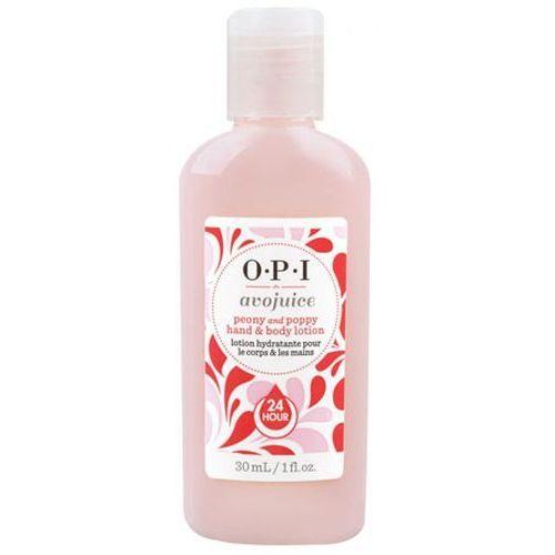 avojuice peony & poppy hand & body lotion balsam do dłoni i ciała - peonia i mak (30 ml) marki Opi