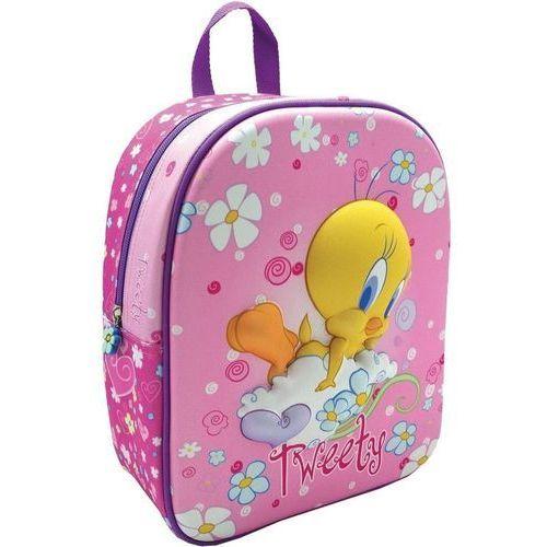 48aeb043c7ff1 Plecak Dziecięcy Tweety 54,29 zł Jednokomorowy plecak dziecięcy, wyśmienity  do przedszkola lub na wycieczki. Ma główną komorę zapinaną na bezzwłoczny.