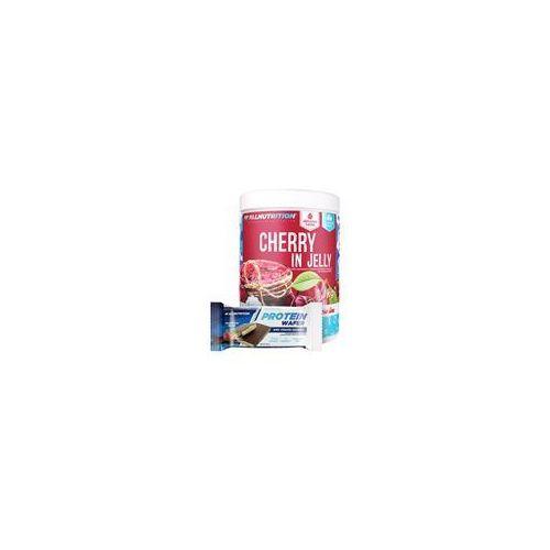cherry in jelly + protein wafer 1000g+35g marki Allnutrition