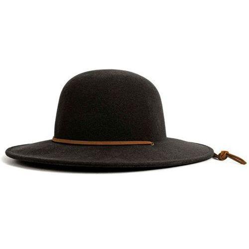 kapelusz BRIXTON - Tiller Hat Black (0100), kolor czarny