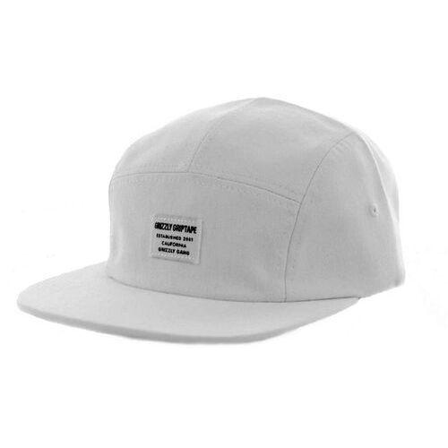 czapka z daszkiem GRIZZLY - CERTIFIED CAMP HAT White (WHITE) rozmiar: OS