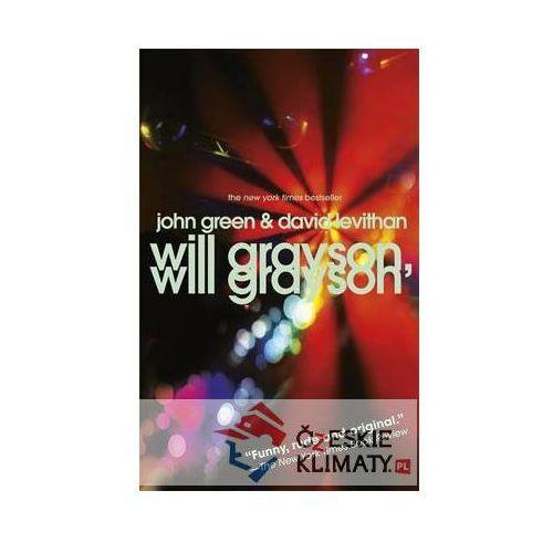 Will Grayson, Will Grayson, John Green