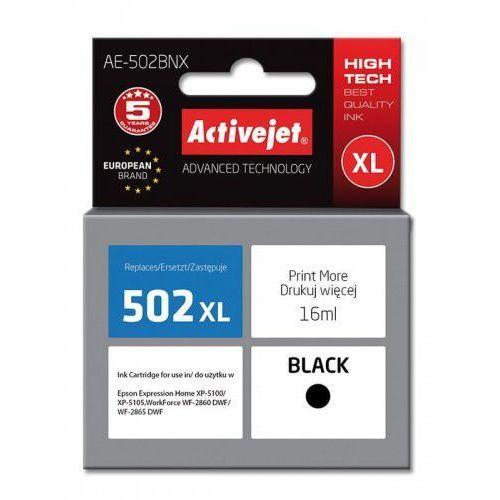 Tusz Activejet AE-502BNX zamiennik Epson 502XL W14010 Supreme 16 ml czarny (5901443111412)