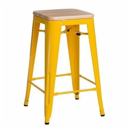 D2.design Hoker paris wood 75cm jesion - żółty