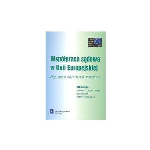 Współpraca sądowa w Unii Europejskiej - SCHOLAR (628 str.)