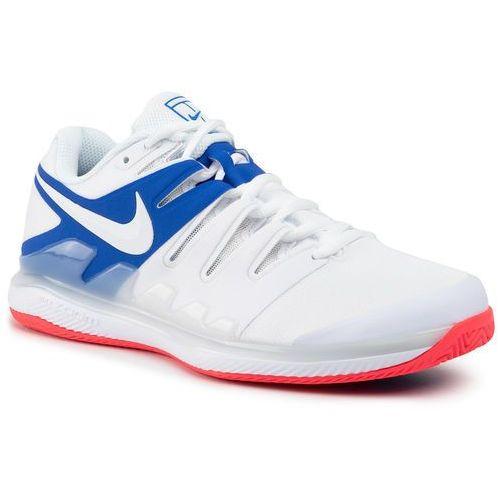 Buty - air zoom vapor x cly aa8021 103 white/white game royal marki Nike