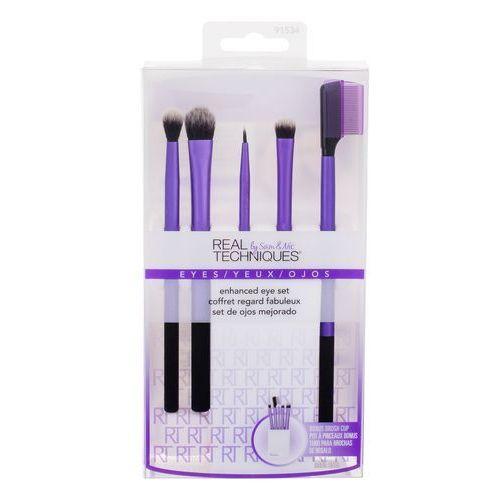 Real techniques brushes eyes enhanced eye kit zestaw 6 szt zestaw