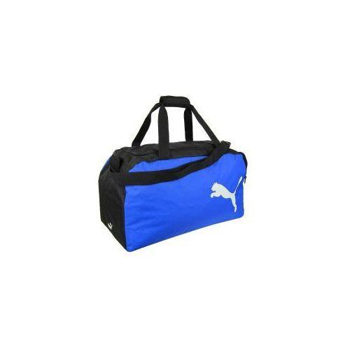 f82513a5e6e01 Torba sportowa treningowa team niebieska marki Puma 74,90 zł Dwukomorowa  torba treningowa Puma Team w kolorze czarnym wytwarzana została ze 100%  poliestru ...