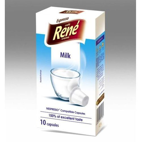 Rene Milk (mleko w proszku) kapsułki do Nespresso – 10 kapsułek