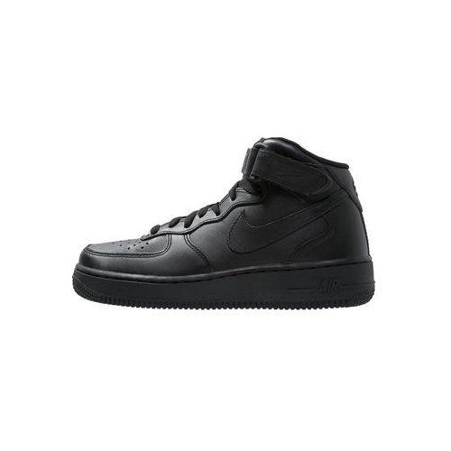 Nike Sportswear AIR FORCE 1 MID '07 Tenisówki i Trampki wysokie black, kolor czarny