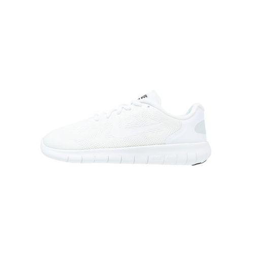 Nike Performance FREE RUN 2 Obuwie do biegania neutralne white/black/pure platinum, kolor biały