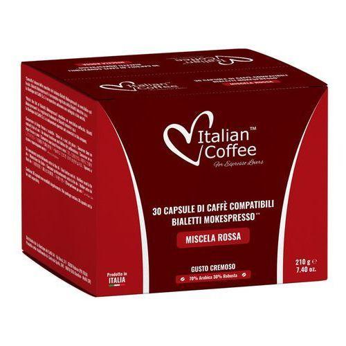 Miscela rossa cremoso kapsułki do bialetti caffÈ d'italia – 30 kapsułek marki Nespresso kapsułki