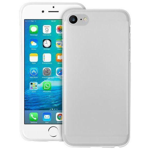 """Puro ultra slim """"0.3"""" cover - etui iphone 7 (półprzezroczysty) + szkło ochronne hartowane na ekran iphone 7"""