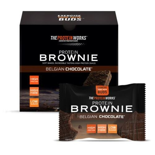proteinowe brownie 40 g marki The protein works