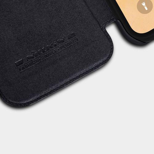Etui Nillkin QIN Apple iPhone 6.1 XR - Black - Black, kolor czarny