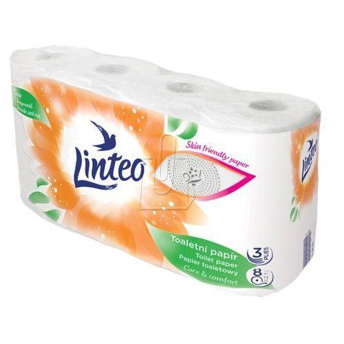 Papier toaletowy biały 3 warstwowy Linteo /8szt/ (8594158372482)