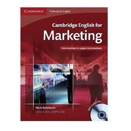 Cambridge English for Marketing, w. Audio-CD (9783125346352)