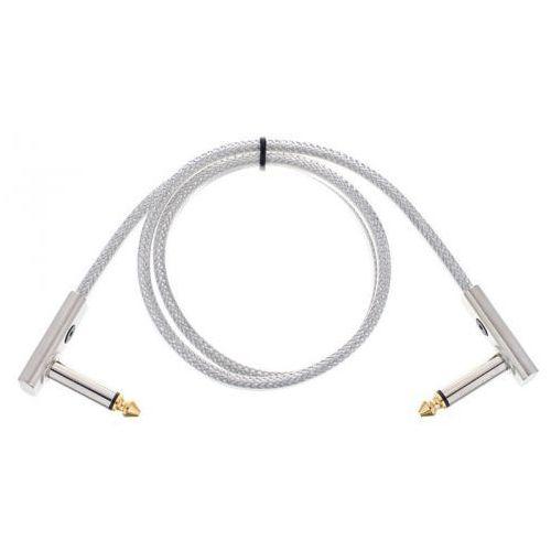 Rockboard flat patch cable sapphire 60 cm kabel połączeniowy z wtykiem kątowym