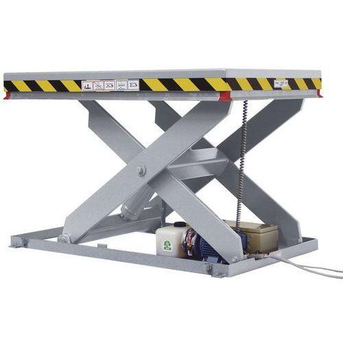 Nożycowy stół podnośny,nośność 2000 kg marki Unbekannt