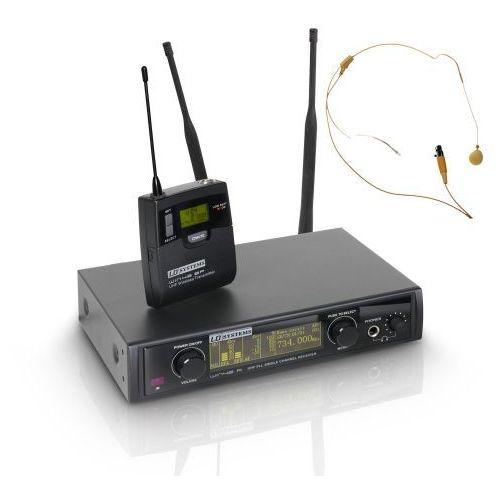 win 42 bphh mikrofon bezprzewodowy nagłowny, kolor beżowy marki Ld systems