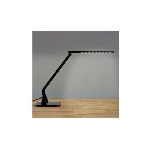 Lampenwelt Czarna lampka na biurko led eleni