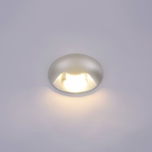 Kinkiet Italux Basilio PL-741-1E oprawa ścienna 1x3W LED srebrny, PL-741-1E
