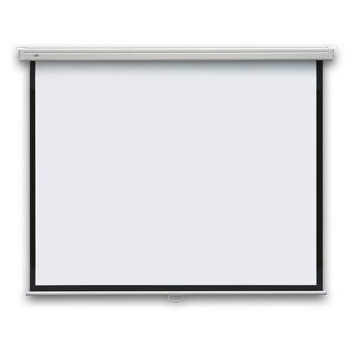 Ekran projekcyjny PROFI manualny, ścienny, 147x147cm, (1:1)
